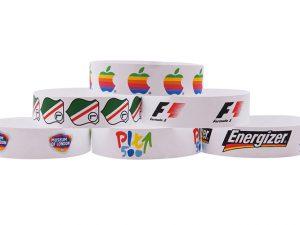 opaski papierowe z logo