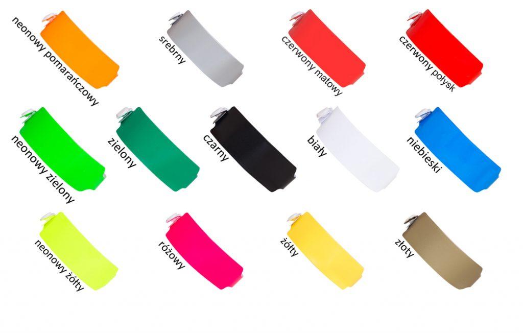 opaski winylowe 25mm paleta kolorów