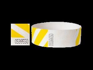 tyvek 19mm w paski żółty
