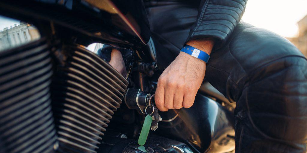 opaski na zloty motocyklowe
